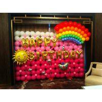 为什么彩虹系列宝宝宴气球布置今年更耀眼