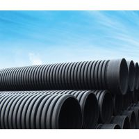 HDPE双壁波纹管 PE波纹管 外径500 SN4 现货充足 价格优惠 湖南易达塑业