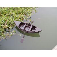 庆荣木业供应木船摆件 酒店装饰船 公园花船 摄影道具船