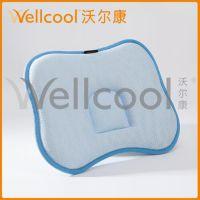 【3d婴童枕】沃尔康涤纶3d网眼布婴儿定型枕