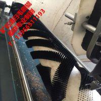 厂家直销皮带清扫器毛刷辊 矿石清扫螺旋辊刷 水泥厂输送带清扫毛刷辊