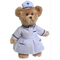 泰迪熊医生公仔熊泰迪熊医生小熊填充毛绒玩具