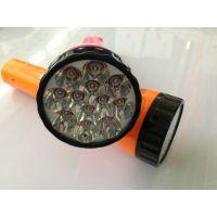 厂家直销 充电式手电筒 塑料手电筒 12LED灯珠手电筒