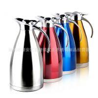 厂家直销 不锈钢欧式咖啡壶 真空保温壶热水瓶 茶壶 1.5L2.0L