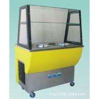 供应双锅全自动炒冰机、冷饮食品加工设备 专利 品牌