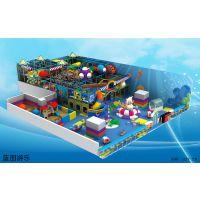 蓝图大型室内儿童游乐设施拓展攀岩电动淘气堡迷你穿梭