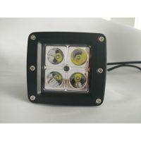 供应 WD-0412L方形LED工作灯大功率汽车LED工作灯 方形12w
