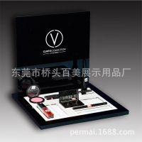 厂家定做品牌化妆品展示架 化妆用品陈列架亚克力高档彩妆展示台