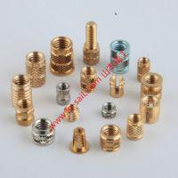铜镶嵌件 注塑铜螺母 铜预埋件 铜滚花螺母 M1.4-M8