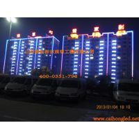 山西太原忻州榆次运城长治学校楼顶大字制作/学校楼顶发光字/楼顶亚克力大字/亚克力楼顶发光字哪家做的好