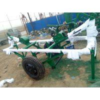光明 3.8T自装卸下置式运杆车 牵引线杆托运车 水泥杆运输车 炮车 批发