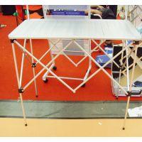 折叠促销台 试吃台 铝 展示架 折叠台