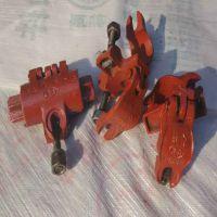 钢管十字恒兴扣件型号脚手架玛钢活动扣件供应商