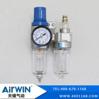 气源处理器二联件_气源处理器价格型号咨询-天银气动厂家直销