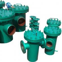 篮式过滤器DN400PN1.6 污水处理厂用过滤器 友瑞牌