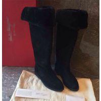 菲拉家外贸原单真皮澳洲羊毛雪地靴加厚长筒靴子女式保暖棉鞋