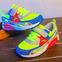 品牌童鞋正品2015春秋男童网面透气儿童运动鞋女童中大童气垫鞋子