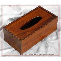 花边木制纸巾盒 木质纸巾盒 木纸巾盒 纸巾盒子 抽纸巾木盒订做