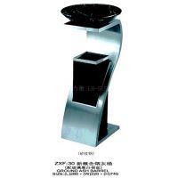 力衡新概念创意烟灰桶酒店大堂KTV带烟灰缸不锈钢垃圾桶采购定制