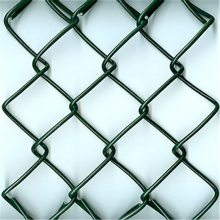 旺来绿色勾花网 动物园围网 勾花护栏网片