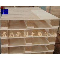 青岛胶合板托盘批发销售出口免熏蒸多层板木托盘价格便宜质量好
