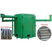 星河牌节能环保干馏式炭化炉100型 用于烧制各类原材料的木炭