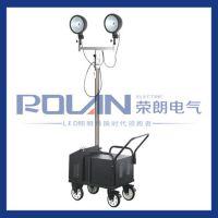 充电型升降式照明装置 移动照明车 自动升降工作灯