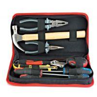 台湾康汀威五金工具【10件家庭工具套装】组合维修工具 手动工具