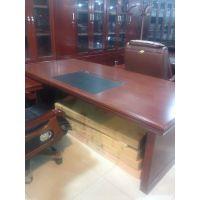 供应新疆红光牌XJ1400实木办公桌