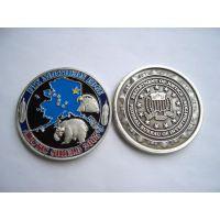 上海纪念章制作合金纪念币订做博邦工厂批发