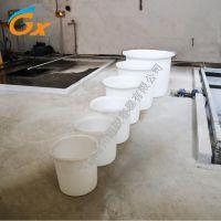 绍兴上虞120L印染打浆桶塑料圆桶养殖桶全新pe低密度聚乙烯昌翔容器