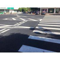 珠海三灶7月份唐人街道路标线完工
