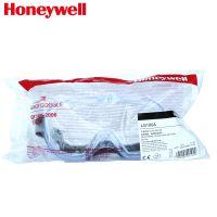 霍尼韦尔LG100A防护眼罩 PC透明防化学眼罩 200100防飞溅眼罩