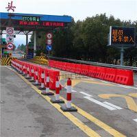 江浙沪高速公路专用水马防撞设施厂家直销