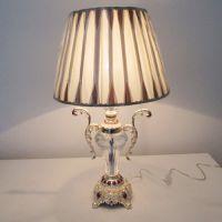 北京中元之光精美欧式水晶台灯锌合金装饰台灯卧室床头灯豪华客厅台灯
