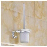 太空铝马桶刷套装 厕刷架厕所刷 带马桶刷杯卫生间挂件厕刷带挂钩