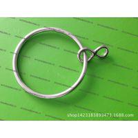 不锈钢渔网圆环 渔具配件 带横撑圆环