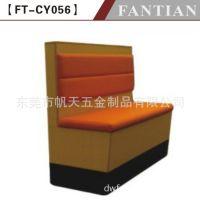 餐厅家具工厂生产单排软包卡座 广东餐厅家具餐桌餐椅