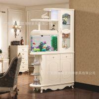韩式客厅鱼缸隔断玄关柜鞋柜酒柜屏风1.2米储物间厅柜特价包邮