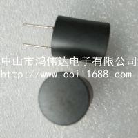 供应直插屏蔽电感PK1214-1MH数字功放D类输出用电感器