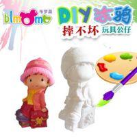 石膏存钱罐模具 陶瓷颜料 白坯批发 儿童DIY陶瓷彩绘玩具 ZC-E067