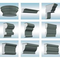 EPS泡沫构件、EPS泡沫线条 河南天目外墙装饰构件生产厂家
