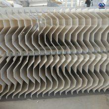 炼铁厂干燥塔除雾器/二吸塔除雾器设备 华强脱硫除尘工程