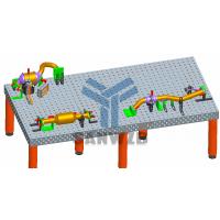 汽车排气管/改装车排气管/汽车部件/汽车座椅柔性组合焊接工装夹具