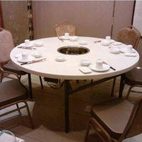 云浮厂家直销韩式大理石火锅餐桌,烧烤火锅桌子,多人位火锅桌,尺寸定做,扬韬!