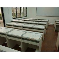 电教室桌椅尺寸,多媒体电教台,电教室电脑桌