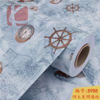 惠州市凯钻厕所墙面贴纸 防火PVC墙纸 卧室浪漫墙纸