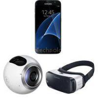 Galaxy S7 edge SM-G935U 32GB Smartphone and Virtual Reality Kit (Unlocked, Silver)
