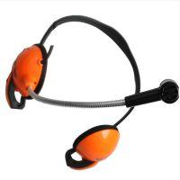 硕美科 salar/声籁K97后挂式耳机 鹅颈管麦克风 线控音量电脑耳机