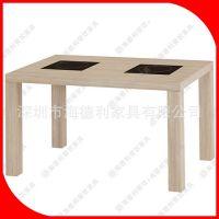 火拼热卖 火锅店桌子 电磁炉火锅桌 自助餐厅原木色火锅桌可定做